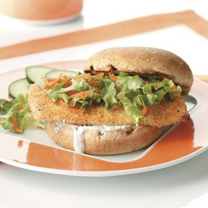 Breaded Fish Sandwiches for Two
