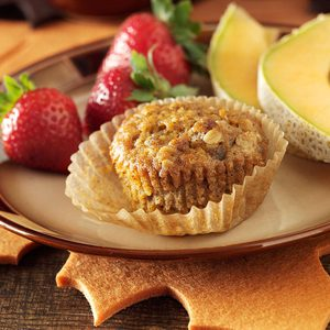 Breakfast Sausage & Sweet Potato Muffins