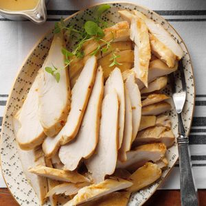 Brined Grilled Turkey Breast