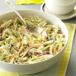 Broccoli Slaw with Lemon Dressing