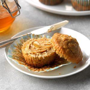 Brown Sugar Oat Muffins