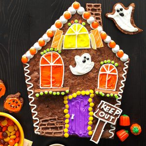 Brownie Haunted House