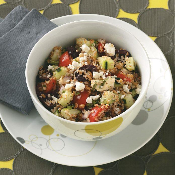 Bulgur Greek Salad