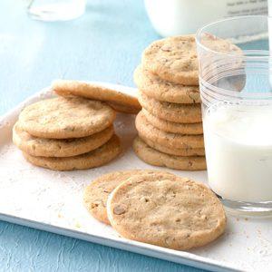 Butter Pecan Icebox Cookies