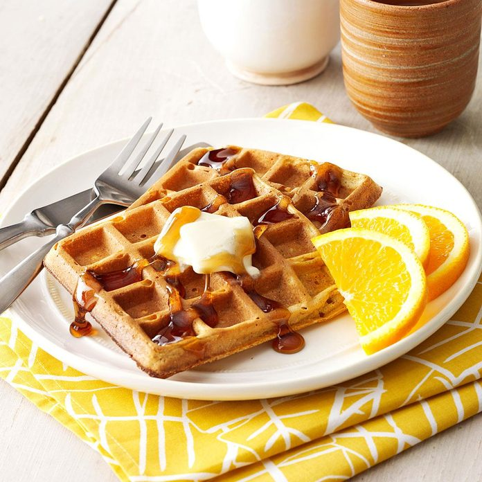 Inspired by: Trader Joes' Pumpkin Toaster Waffles