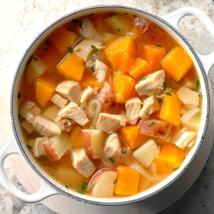 Butternut Turkey Soup
