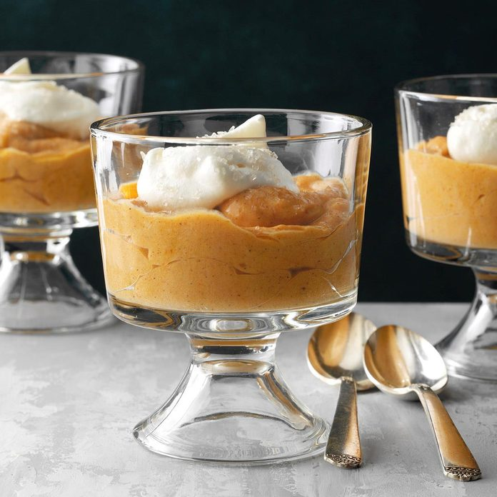 Alabama: Butterscotch Pumpkin Mousse