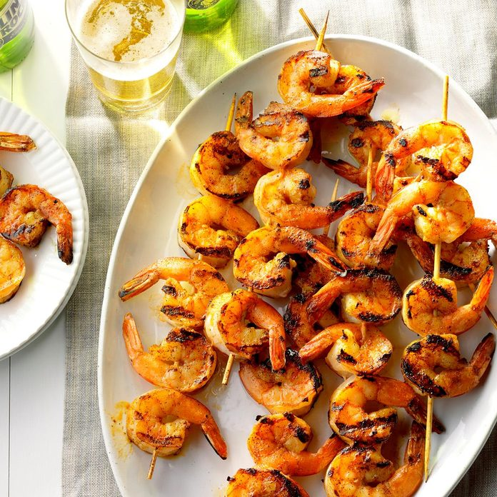 Inspired by: Garlic-Grilled Shrimp