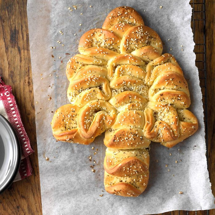 Buttery Herb Christmas Tree