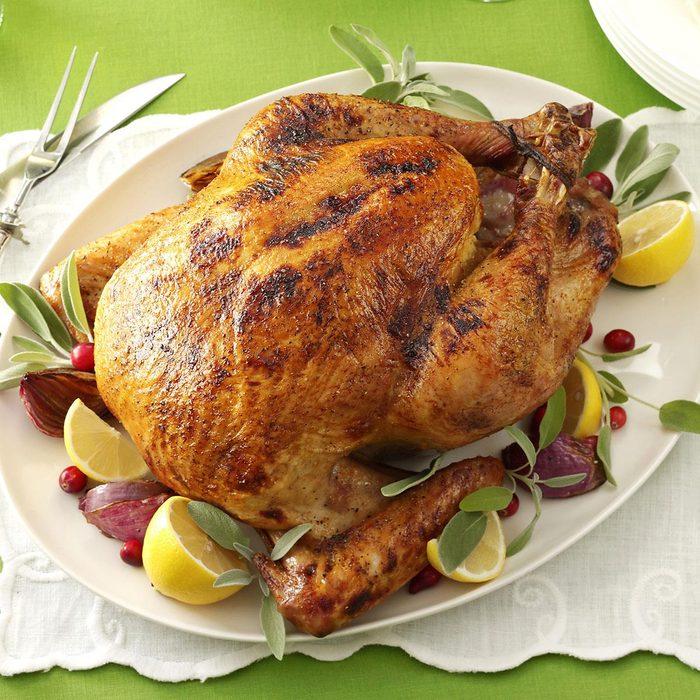 Buttery Lemon Turkey