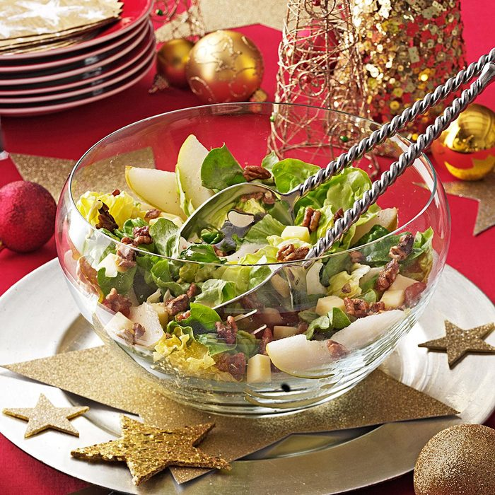 Candied Pecan and Pear Salad