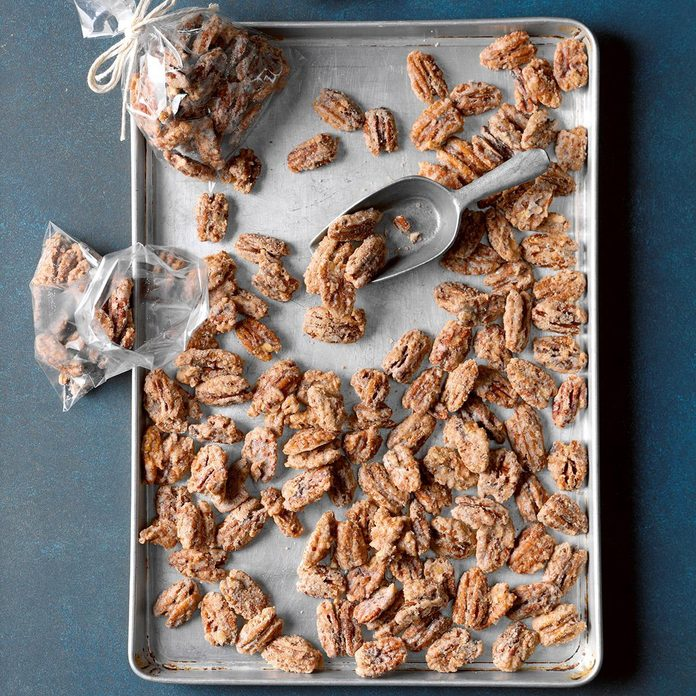 Texas: Candied Pecans