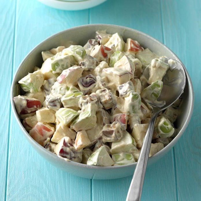 Iowa: Candy Bar Apple Salad