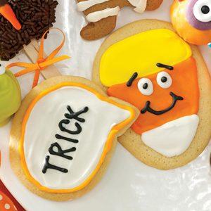 Candy Corn Conversation Cookies