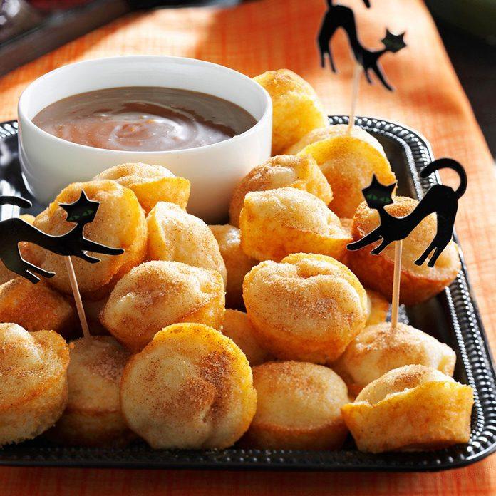 Caramel Apple Doughnut Muffins