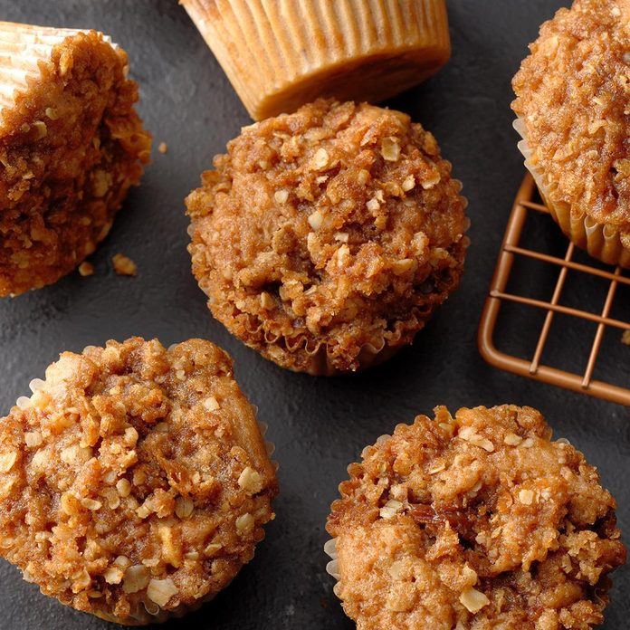 Louisiana: Caramel Apple Muffins