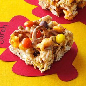 Caramel Corn Treats