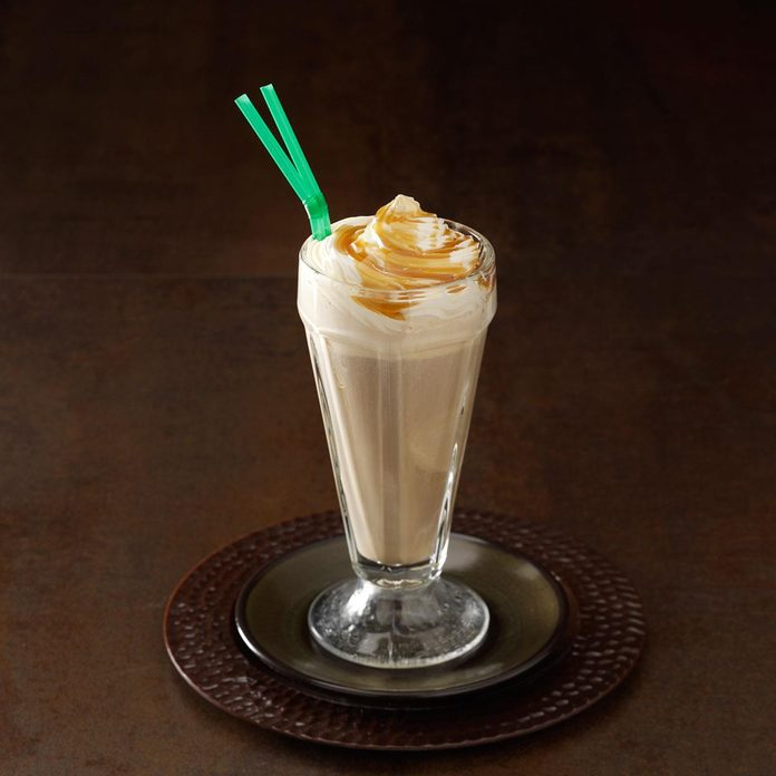 Inspired by: McDonald's Caramel Frappe