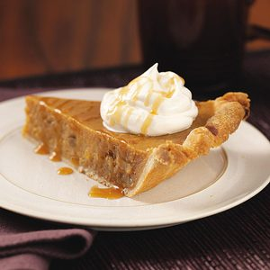 Caramel Sweet Potato Pie