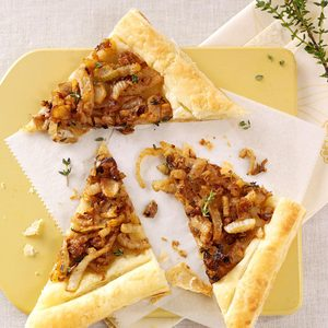 Caramelized Fennel Tarts