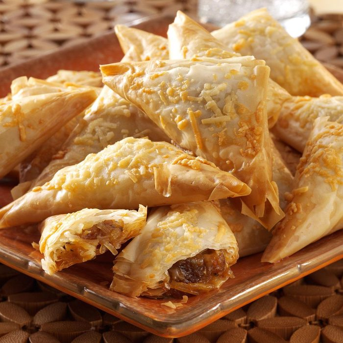 Caramelized Onion & Cheese Pastries