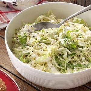 Caraway Coleslaw with Citrus Mayonnaise