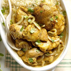 Caribbean Curried Chicken