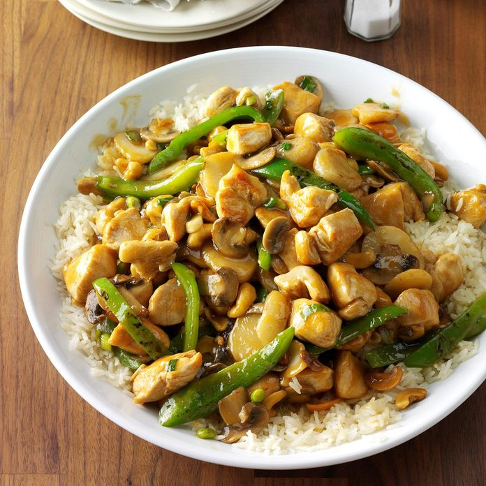 Inspired by: Cheesecake Factory Spicy Cashew Chicken