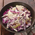 Celery Root and Pear Slaw