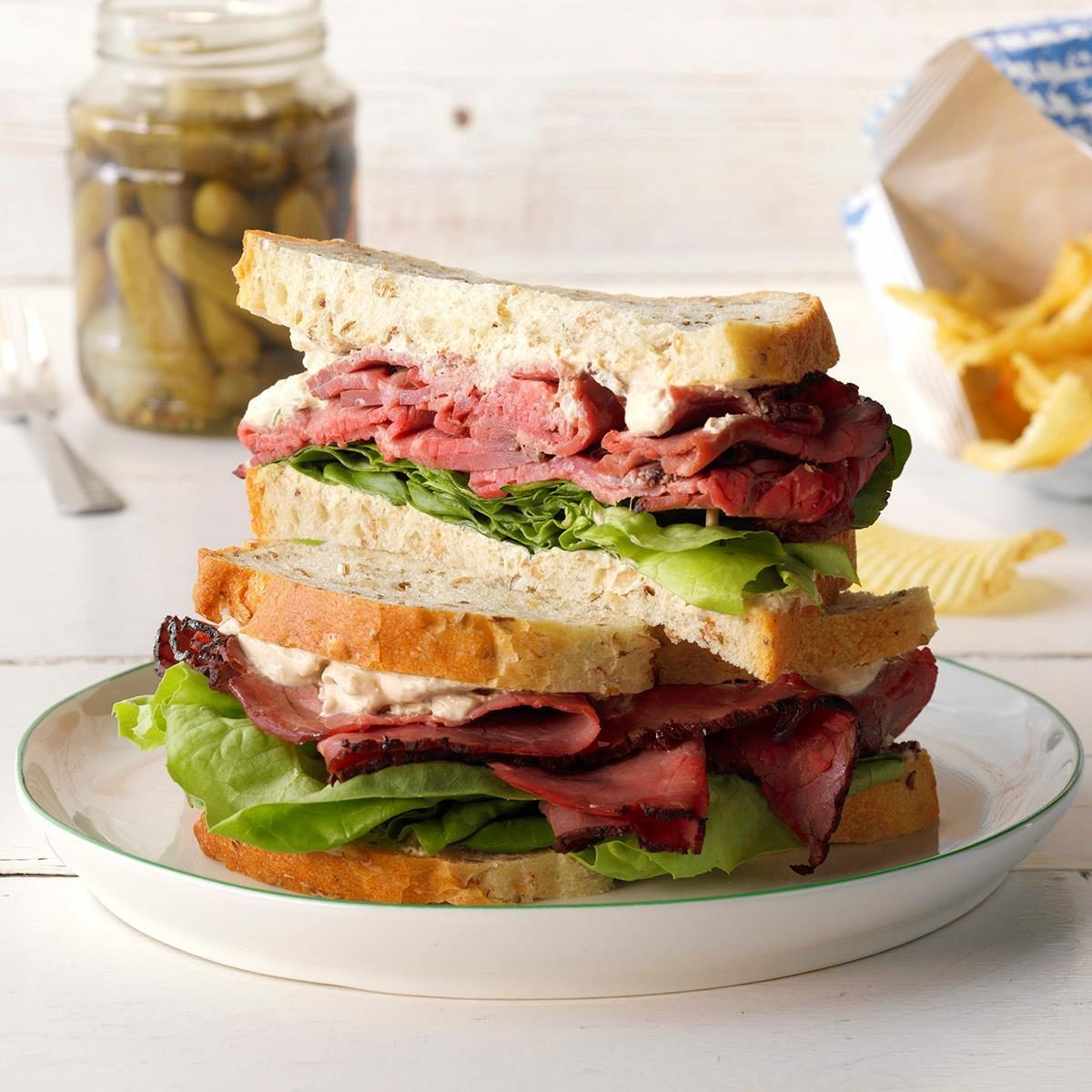 Champion Roast Beef Sandwiches
