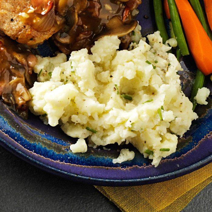 Cheesy Chive Potatoes