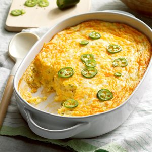 Cheesy Corn Spoon Bread