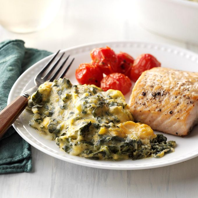 Inspired By: Boston Market Creamed Spinach
