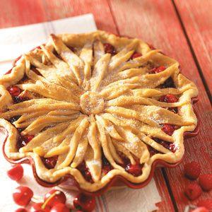 Cherry-Berry Streusel Pie