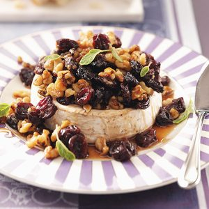 Cherry-Brandy Baked Brie
