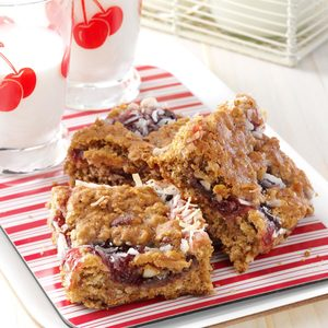Cherry Oat Bars