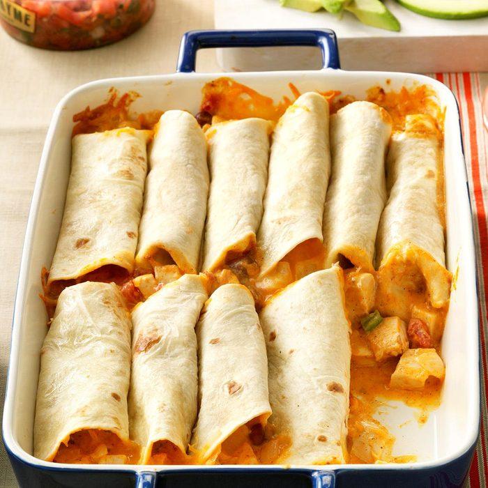 Chicken Burritos