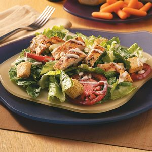 Chicken Caesar Salad for Two