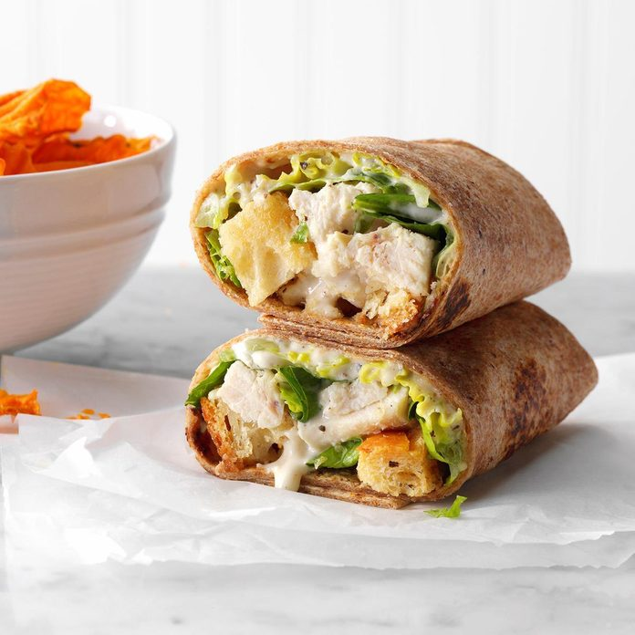 Inspired by: Panera Chicken Caesar Salad