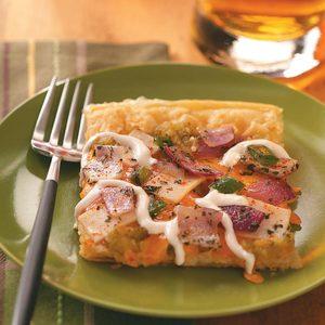 Chicken Enchilada Verde Pizza