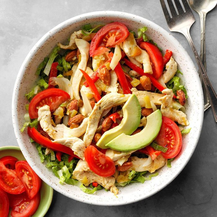Chicken Fajita Salad Exps Chbz19 3288 E10 24 2b  5