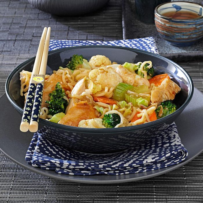 Chicken Noodle Stir-Fry
