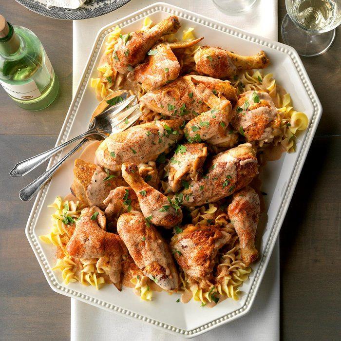 Day 16: Chicken Paprikash