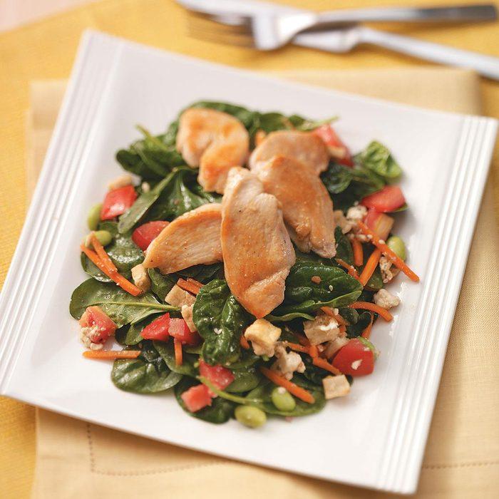 Chicken and Pita Salad