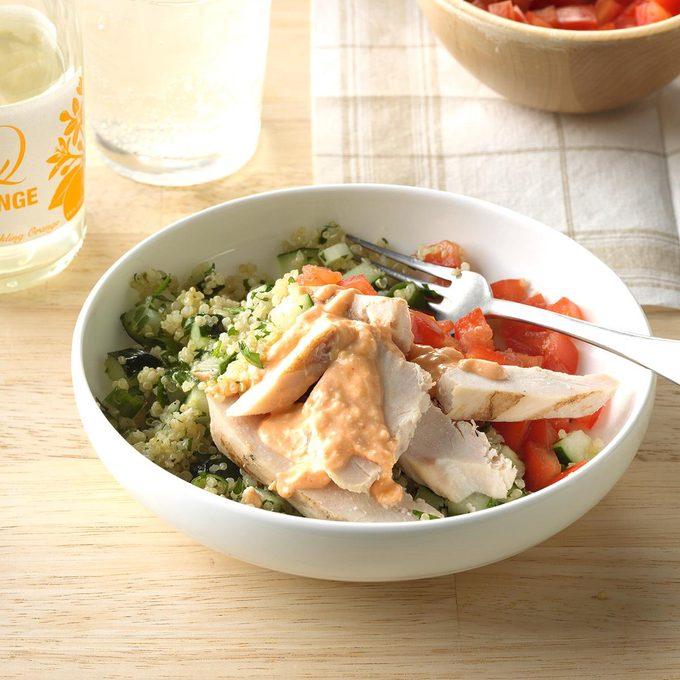 Inspired By: Power Mediterranean Chicken Salad