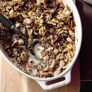 Chicken and Wild Rice Bake
