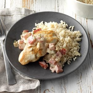 Chicken with Creamy Jalapeno Sauce
