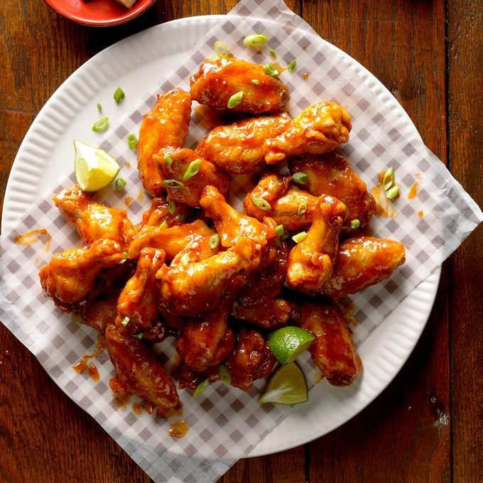 Chili-Lime Chicken Wings