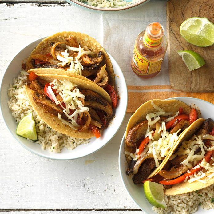 Friday: Chili-Lime Mushroom Tacos
