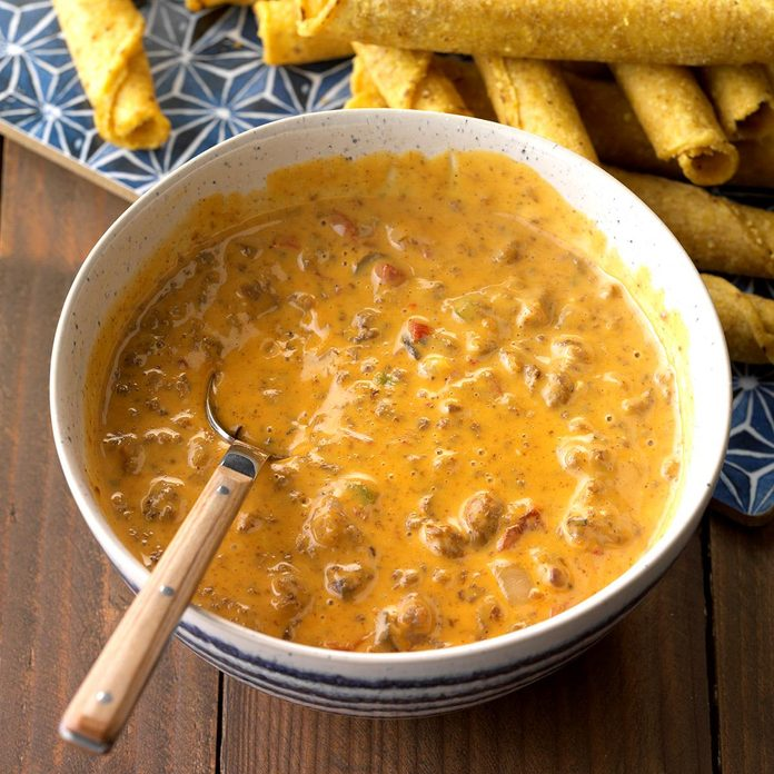 Inspired by: Chili Queso Dip